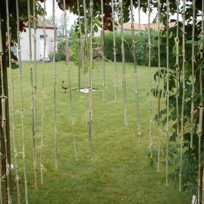 Rideau de bambou (détail)