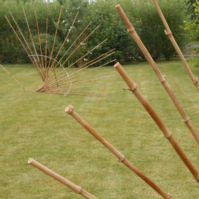 Eventails en bambou