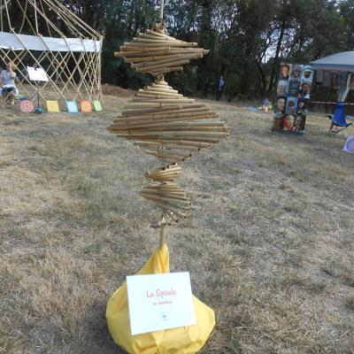 Spirale en Bambou